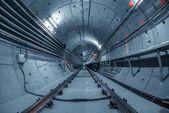 Tunnel sotterraneo per la metropolitana — Foto Stock