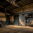 Industrial interior of an old factory — Stock Photo #36215761