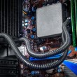 Computer motherboard — Stock Photo #37409745