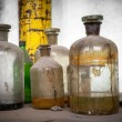 Old laboratory with a lot of bottles — Stock Photo #37410067
