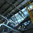 Industrial pipes in a thermal power plant — Stock Photo #40104409