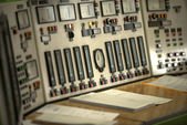 Control panel of a power plant — Stock Photo