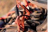 Akku Batterieladegerät — Stockfoto