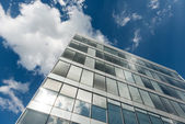 Shot of modern building — Foto de Stock