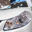 Modern luminescent lamp of a car — Stock Photo #46656505