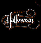 HALLOWEEN hand lettering (vector) — Vetorial Stock