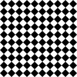 Black and white hypnotic background. — Stockfoto