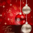 Abstract beauty Christmas and New Year background. - Stock Photo
