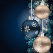 Abstract beauty Christmas and New Year background. — 图库照片
