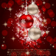 Abstract beauty Christmas and New Year background. vector illust — Стоковая фотография