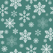 Winter christmas new year seamless pattern, beautiful texture with snowflakes — Stock Photo #13148655