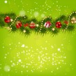 Abstract beauty Christmas and New Year background. — ベクター素材ストック