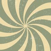 Illustration de background.vector hypnotique grunge vintage rétro — Vecteur