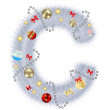 Стоковое фото: Abstract beauty Christmas and New Year abc. vector illustration