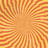 Retro style hypnotic background. vector illustration — Stock Photo