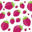 Strawberry, cream abstract hypnotic background. vector illustrat — Stock Vector