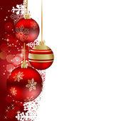 Streszczenie tło uroda boże narodzenie i nowy rok. — Wektor stockowy