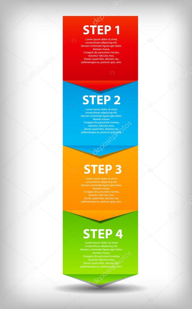 Concept of business process improvements chart. Vector illustration. EPS 10. — Stock Vector #13873063