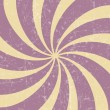 Retro vintage grunge hypnotic background.vector illustration - Imagen vectorial