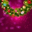 Abstract beauty Christmas and New Year background. vector illust - Stock Vector