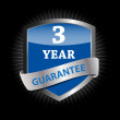 Guarantee label shield vector illustration - Imagen vectorial