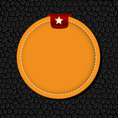Cirkel banner vector afbeelding achtergrond — Stockvector