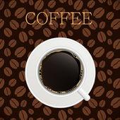 Coffee house menu template vector illustration — Stock Vector