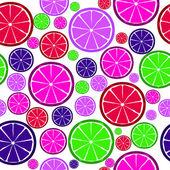 水果设计无缝模式。矢量插图。10 eps. — 图库矢量图片