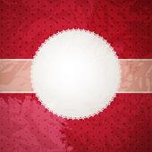 Vector cartão ou cobrir com arco. espaço para o seu texto ou p — Vetor de Stock