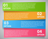 Infographic template vector illustration — Stock Vector