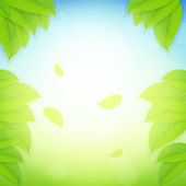 Nature background. Vector illustration — Stock Vector
