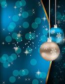 Fondo de navidad y año nuevo de belleza abstracta. — Vector de stock