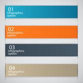 Infographic business sjabloon vectorillustratie — Stockvector