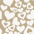 Valentine seamless hearts pattern — Stock Vector #31185193