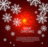 Abstract beauty Christmas and New Year background. — Cтоковый вектор
