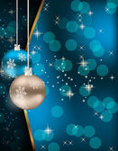 Abstract beauty Christmas and New Year background. — Vector de stock