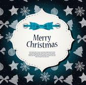 Красота абстрактный фон Рождество и новый год. — Cтоковый вектор