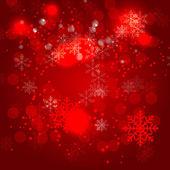 красота абстрактный фон рождество и новый год. вектор ил — Cтоковый вектор
