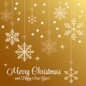 Belleza abstracta fondo de navidad y año nuevo. vector ilust — Vector de stock
