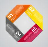 信息图表商务模板矢量图 — 图库矢量图片