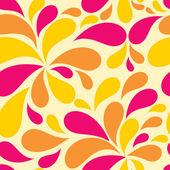 цветочные бесшовные фоном для свадьбы и дня рождения — Cтоковый вектор