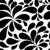 Floral Seamless Pattern Background — Stock Vector