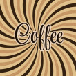 Coffee abstract hypnotic background. — Stock Vector #38715175