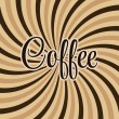 Coffee abstract hypnotic background. — Stock Vector #38715255