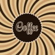 Coffee abstract hypnotic background. — Stock Vector #38715971