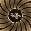Coffee abstract hypnotic background. — Stock Vector #38716001