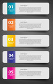Infographic business template — Stock Vector