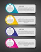 Modello di business di infografica — Vettoriale Stock