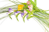 Buquê de flores coloridas — Fotografia Stock