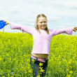 Child on meadow — Stock Photo #39067451
